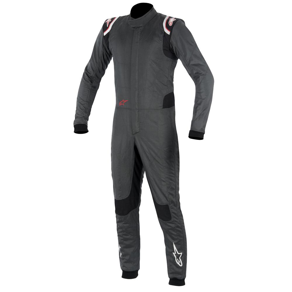 Alpinestars Supertech Nomex Race Suit i Anthracite Size 52
