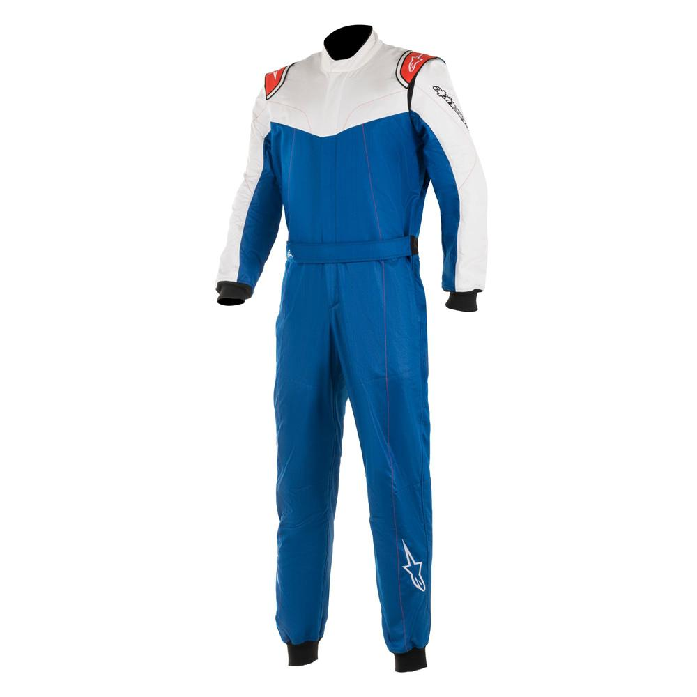 Alpinestars Stratos FIA Approved Race Suit i Blue & White