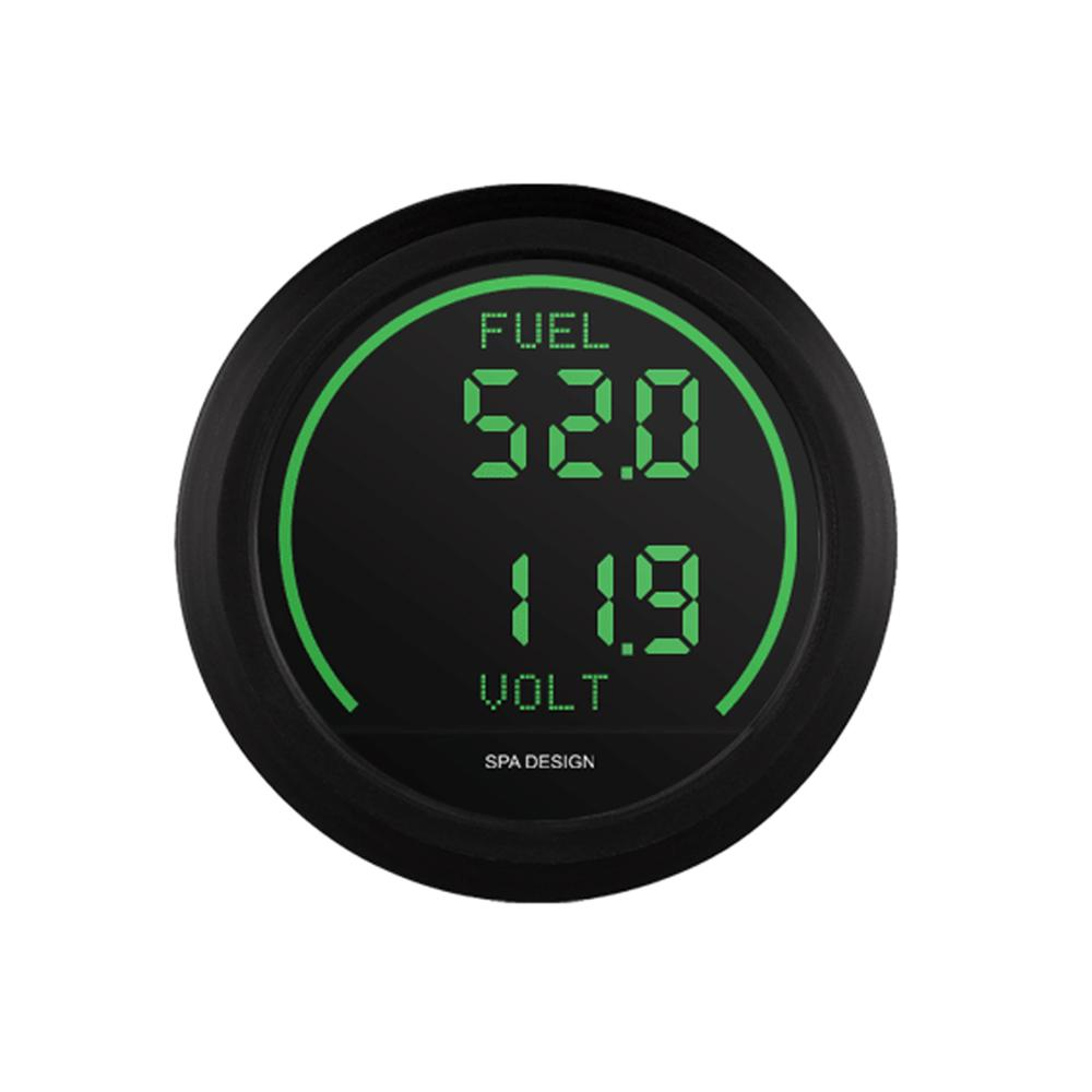 SPA Signature Series bränslenivå / Volt Gauge